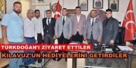 Ülkücülerden MHP'ye anlamlı ziyaret