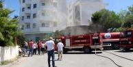 5 yıldızlı otelin çöp odasındaki yangın korkuttu