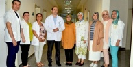 Ak Parti Kadın Kollarından Başhekime ziyaret
