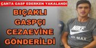 Alanya#039;da bıçaklı gaspçı tutuklandı