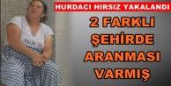 Alanya#039;da hırsızlık yapan hurdacı kadın tutuklandı