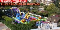 Alanya#039;nın tek dev balon parkı yenilendi