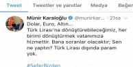 Antalya Valisinden TL#039;ye destek paylaşımı
