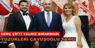 Çavuşoğlu Alanya#039;ya nikaha geldi