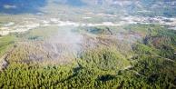Kaştaki orman yangını kontrol altına alındı