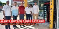 Türkdoğan ve MHP#039;liler döviz bozdurdu