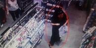 Alanya#039;da hırsız böyle görüntülendi