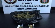 Alanya#039;da uyuşturucu madde operasyonu: 2 gözaltı