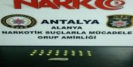 Alanya#039;da uyuşturucu operasyonu: 2 gözaltı
