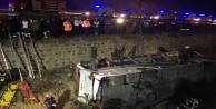 Alanya otobüsü kaza yaptı: 8 ölü, 28 yaralı var