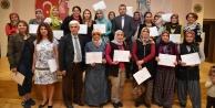 Alanyalı çiftçiler sertifikalarını aldı