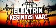 Dikkat! Alanya#039;da elektrik kesintisi var