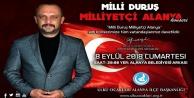 quot;Milli Duruş Milliyetçi Alanyaquot; konserine davet