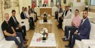 AGC #039;nin yeni yönetiminden Başkan Türele ziyaret