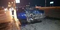 Alanya#039;da gece yarısı feci kaza