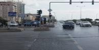 Alanya#039;da o kavşakta yine kaza oldu