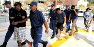 Alanya#039;da şezlong hırsızları yakalandı