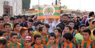 Alanyasporlu futbolcular Gazipaşa#039;da çocuklarla buluştu