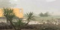 Antalyada şiddetli yağmur etkili oldu