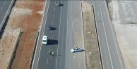 Helikopter ve drone ile trafik denetimi