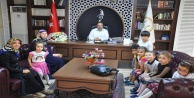 Minikler, Müftü İlhan#039;ı ziyaret etti