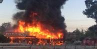 Restoran cayır cayır yandı