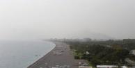 Toz bulutu Alanya ve Antalya#039;da etkisini sürdürüyor