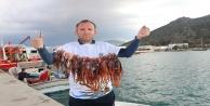 15 zıpkıncı, 2 saatte 106 Aslan Balığı avladı