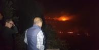 4 mahalleyi tehdit eden orman yangını
