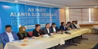 Alanya AK Parti İstişare etti