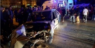 Alanya#039;da zincirleme kaza: 4 yaralı var