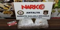 Antalyada 9.5 kilo skunk ele geçirildi