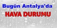 Bugün Antalya#039;nın havası nasıl?