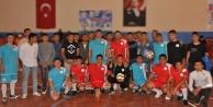 Futbolun Efsaneleri, çocuk ve genç hükümlülerle buluştu