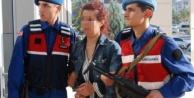 Gazipaşa#039;da PKK#039;lı kadın yakalanacağını anlayınca intihara kalkıştı