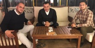Guzyaka başkan Yücel#039;le buluştu