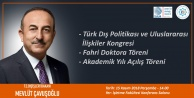 İşte Bakan Çavuşoğlu'nun Alanya programı