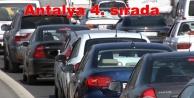 Motorlu araç sayısı 1 milyon 53 bin 78 oldu
