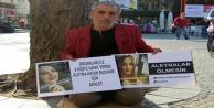 Organlarıyla 8 kişiye umut olan Aleyna#039;nın babası oturma eylemi yaparak adalet istedi