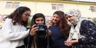 Polisden işitme engelli öğrencilere fotoğrafçılık eğitimi