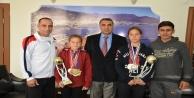Şampiyonlar Kupalarıyla Harputluyu ziyaret etti