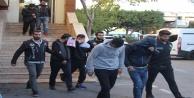 Telsizle haberleşen uyuşturucu satıcıları polise takıldı: 9 Gözaltı