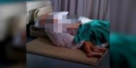 Alanya#039;da ses gelmeyen evinde ölmek üzereyken kurtarıldı