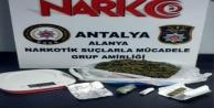Alanya polisinden uyuşturucu operasyonu: İmam Hatip görevlisi gözaltına alındı