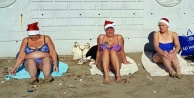Alanyada İsveçli anneannelerin plaj keyfi