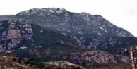 Alanya'da Mahmutlar'a da kar yağdı!