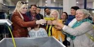 Alanyada zeytinyağı fabrikasına Rus gezisi