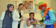 ALKÜden tedavi gören çocuklara renkli sürpriz