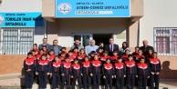 ALTSO Başkanı Şahin çocukları sevindirdi