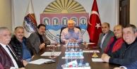 ALTSO  Başkanı Şahin hal esnafını dinledi